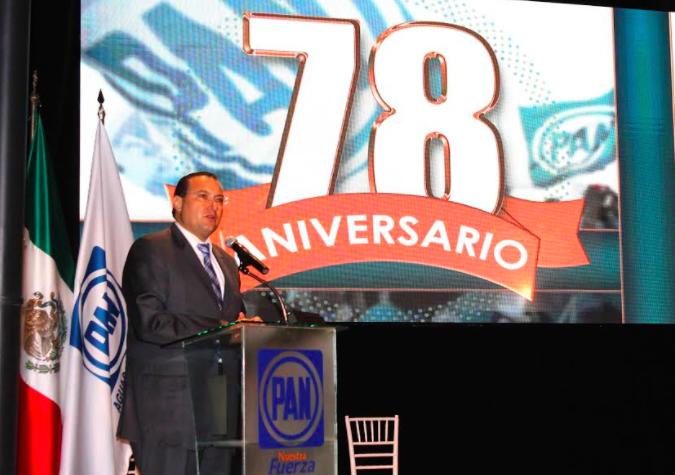 Celebra PAN Aguascalientes 78 aniversario