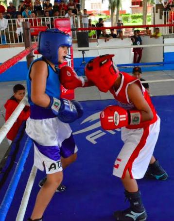 OlimpiAgs  y Liga de Boxeo en  San José de Gracia