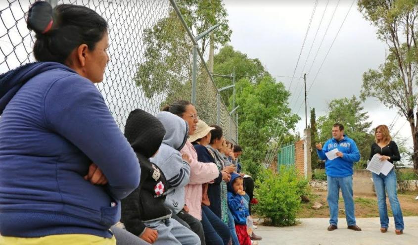 Instalan comité de familiares de migrantes en Jesús María
