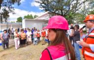 Supervisan obras hidráulicas en La Fe