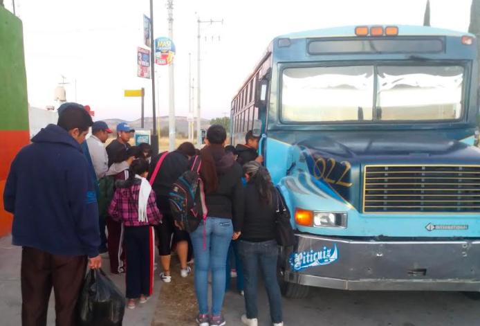 Inicia tarifa especial para estudiantes en el Transporte Público de Jesús María