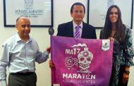 Nombran embajador del Maratón Aguascalientes