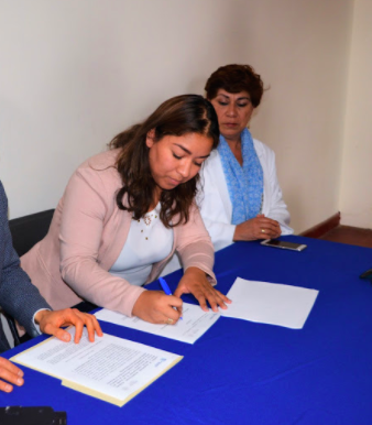 Renuncia al IAM Ruth Pérez Cedillo