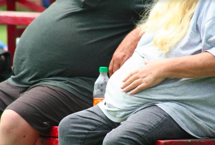 3 de cada 10 niños y casi 7 de cada 10 adultos tienen sobrepeso y obesidad