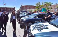 Realiza alcaldesa entrega histórica de patrullas a la SSPyTM
