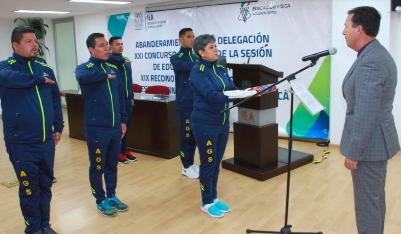 Participarán maestros de Aguascalientes en Concurso Nacional de Educación Física