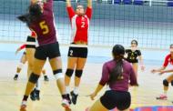 """""""Gallas"""" se coronan en final de voleibol femenil"""