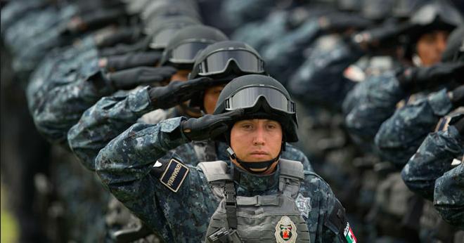 Llegó la Gendarmería  a Aguascalientes