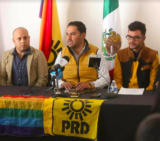 Logra PRD 4 sentencias favorables para la comunidad gay