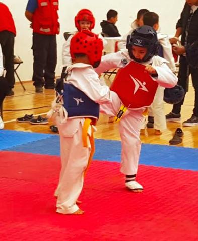 Fue Calvillo sede de la Liga Estatal de Taekwondo