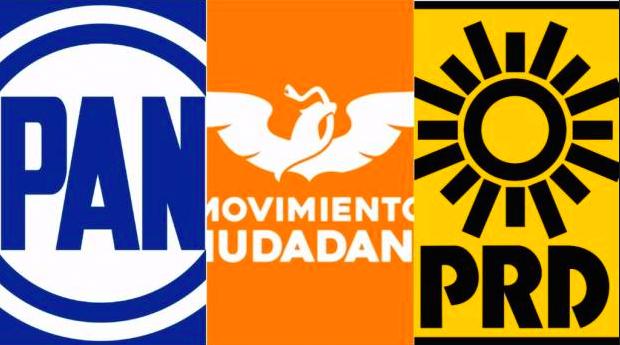 Se reparten candidaturas PAN-PRD-MC en Aguascalientes