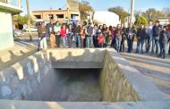Entregan red de drenaje en San Miguelito