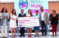 Anuncia Tere Jiménez 400 créditos para emprendedores