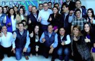 Paquín, Márquez, Montañez y Tiscareño por la fórmula al Senado