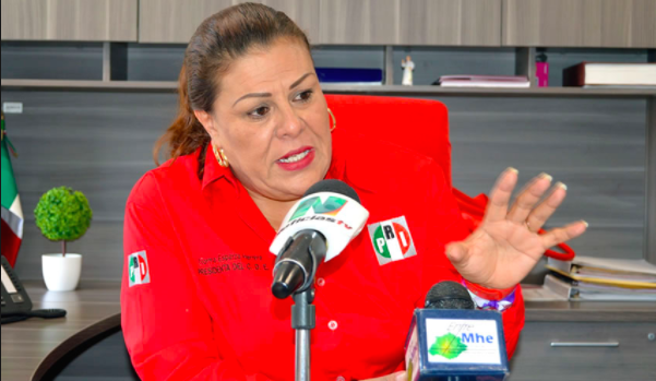 Espaldarazo del CEN y CDE para Norma Esparza
