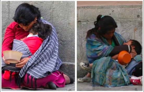 Niños indígenas no estudian por falta de dinero y por no sentirse acoplados