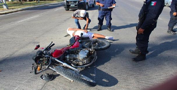 Operativo contra motociclistas