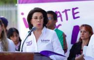 Presenta Lorena Martínez sus propuestas en materia de seguridad
