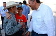 Compromete Rafa Calderón educación y trabajo en el distrito 01