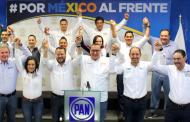 Presentan candidatos del PAN su 3de3