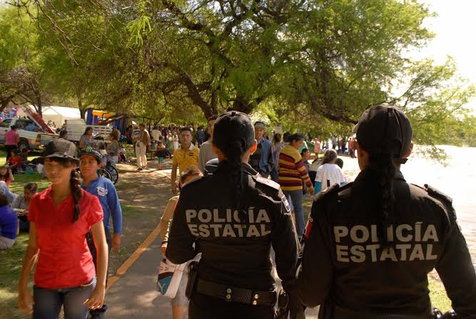 Aguascalientes por debajo de la media nacional en cobertura policial estatal