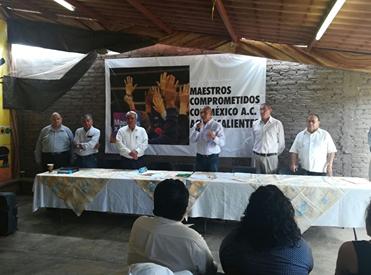 Critican nacimiento de corriente magisterial en Aguascalientes y México