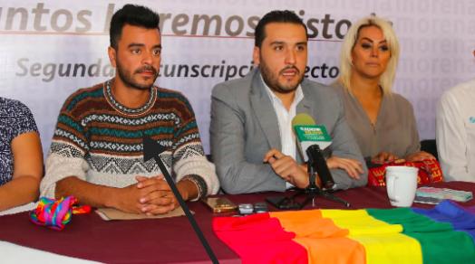 Expulsará PRD a Secretario de la Diversidad Sexual, por apoyar a Morena
