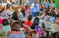 Compromete Toño Martín apoyo a las mujeres empresarias de Aguascalientes