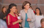 Ratifica Lorena Martínez compromiso con las mujeres