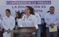 Presenta Lorena Martínez sus propuestas de campaña en materia educativa