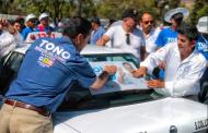 Compromete Toño Martín propuestas con el sector transporte