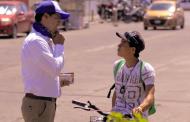 Compromete Leo Montañez apoyo a la juventud
