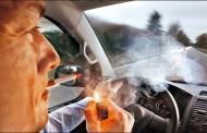 Fumar manejando será motivo de sanción para servidores públicos
