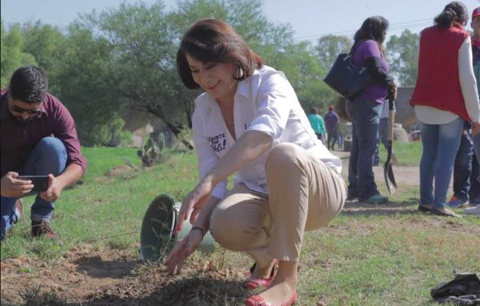 Va Lorena Martínez por el rescate del Río San Pedro