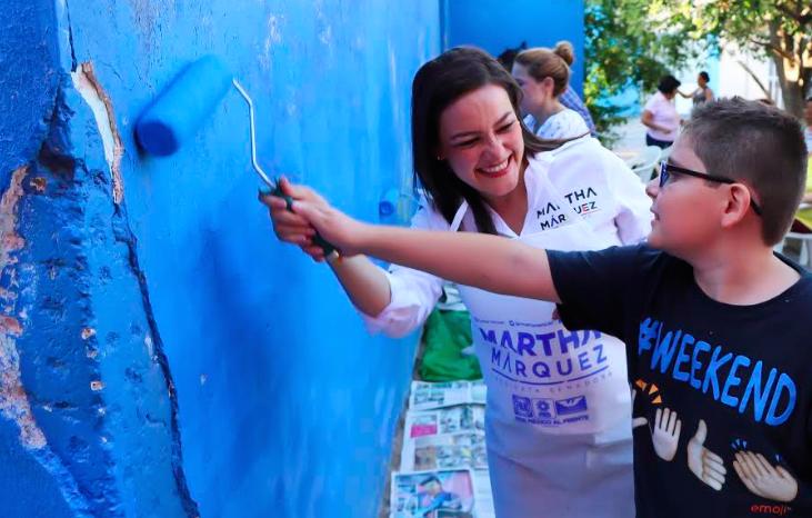 Ratifica Martha Márquez su compromiso con las causas sociales