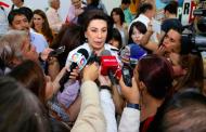 Ratifican amonestación para Lorena Martínez