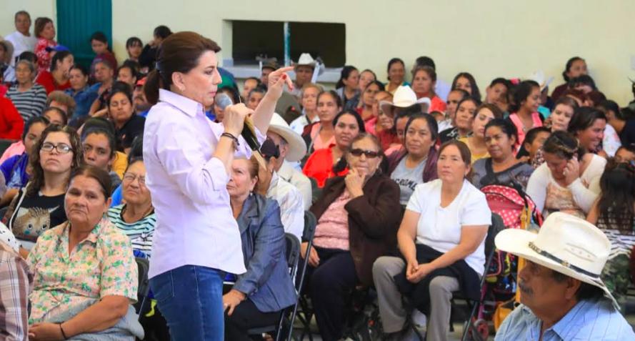 Presenta Lorena Martínez decálogo rumbo al Senado