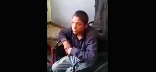 Simulaban una discapacidad para pedir limosna