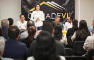 Presenta Lorena Martínez agenda legislativa a Desarrolladores de Vivienda