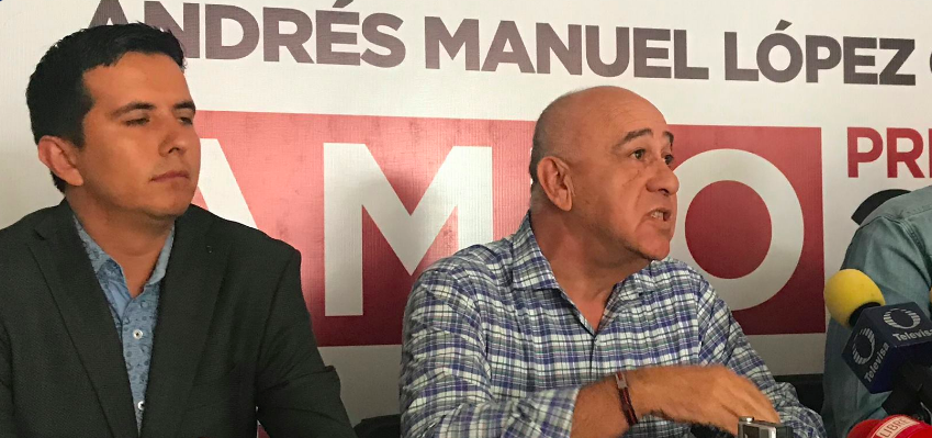 Ex dirigente del PRI pide el voto para MORENA