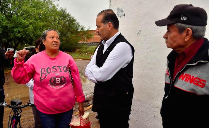 Inundaciones por fallas en la red hidráulica es tema municipal: Orozco