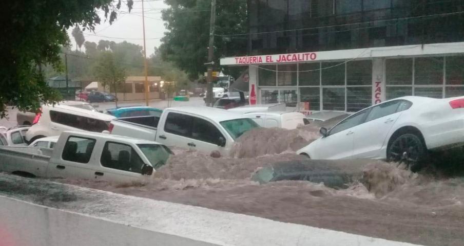 Alerta CNA sobre tormentas fuertes para Aguascalientes