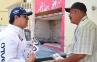 """Vivienda digna y regularización de predios, propone """"Quique Galo"""""""