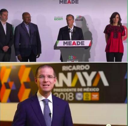 Meade y Anaya reconocen triunfo de López Obrador