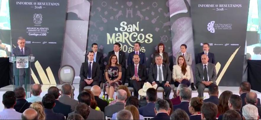 Renuncia Paquín al Patronato de la Feria de San Marcos