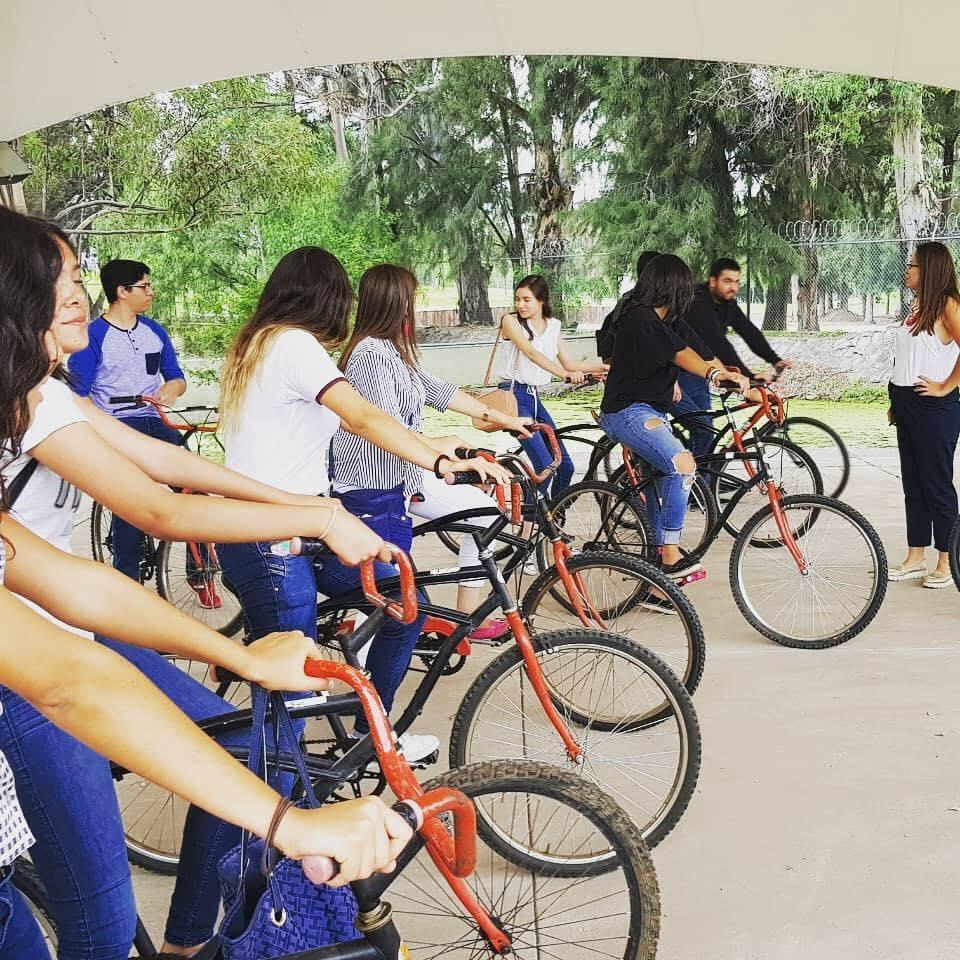 Recorridos en bici por Ciudad Universitaria, ofrece FEUAA a recién egresados