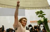 Aplaude Maestros por México, liberación de Gordillo
