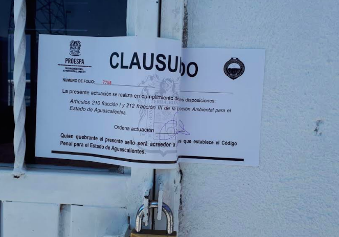 Clausura PROESPA 6 verificentros