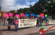 Protestan en contra del Coordinador de MORENA-PES