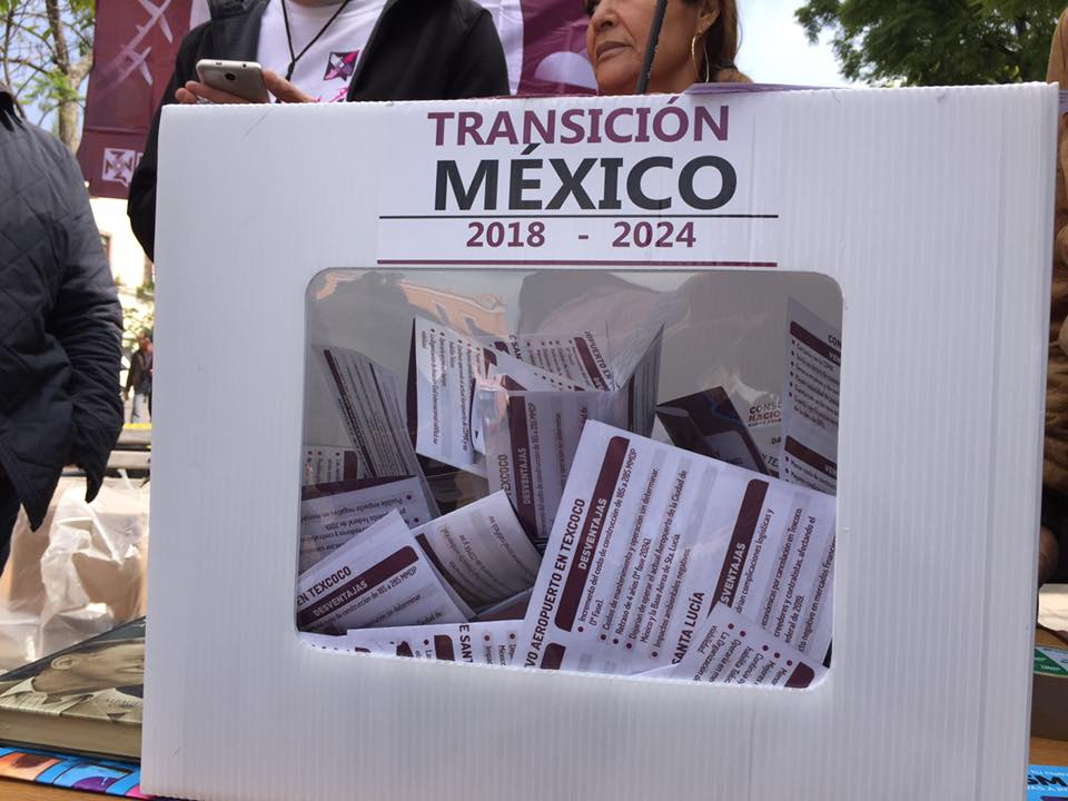 Santa Lucía gana la Consulta del NAIM en Aguascalientes y México
